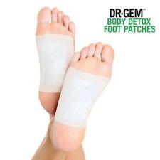 Dr Gem 1 lot de 10 patchs détoxifiants soin des pieds pour éliminer les toxines