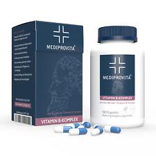 180 Kapseln VITAMIN B KOMPLEX | Extra Hochdosiert Alle B-Vitamine | TOP QUALITÄT