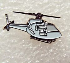 White Helicopter enamel pin lapel badge RAF Royal Air Force chopper