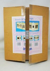 Vintage Dollhouse Kit Houseworks Street Of Shops Two-Window Shop 1:12 Scale