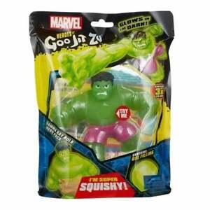 Heroes of Goo Jit Zu Marvel Heroes Gamma Glow Hulk Glow in the Dark Figure