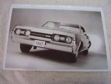 1967 OLDSMOBILE 442 HARDTOP   11 X 17  PHOTO  PICTURE   PIC 2
