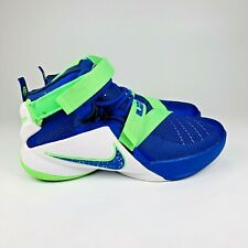 Nike Lebron Soldier 9 Sprite Blue Green Size 7