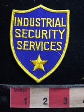 INDUSTRIAL SECURITY SERVICES Security / Police Type Patch 76YF