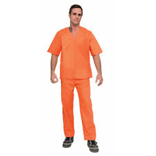 Adult Orange Prisoner Halloween Costume