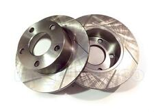 GROOVED / SLOTTED Performance REAR Brake Discs AUDI A6 (4B, C5) 2.5 TDI 2000-05