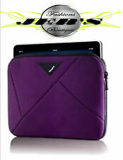 """Targus A7 Neoprene Sleeve for 9.7"""" iPads & Tablets (Plum)"""