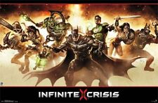 VIDEO GAME POSTER Infinite Crisis Group