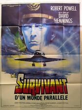 THE SURVIVOR - Robert Powell - 47x63 FRENCH POSTER