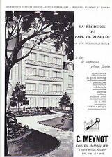 PUBLICITE ADVERTISING 034 1958 C.MEYNOT conseil immobilier