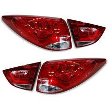 LED Rear Tail Light Lamp Assembly 4p 1Set For 10 11 12 13 Hyundai Tucson : ix35