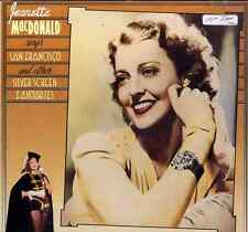 JEANETTE MacDONALD Sings San Francisco & Other Silver Screen Favourites LP Used