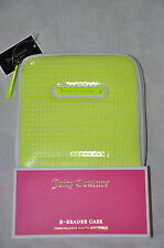 NEW JUICY COUTURE Sunshine Shimmer Sequin E-Reader Case Ultra Yellow