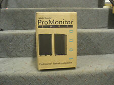 Definitive Technology ProMonitor 1000 Speakers (PAIR) Black pro monitor 1000