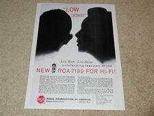 RCA Tube Ad, 1957, 1 page, 7199, Article, Info