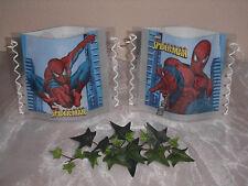 Tischlicht/Windlicht Spiderman Motiv