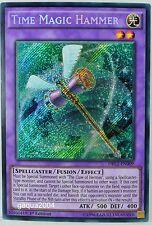 YuGiOh Time Magic Hammer DRL2-EN009 Secret Rare 1st Edition