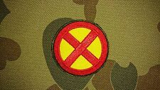 BRAND NEW XMEN SYMBOL RED YELLOW MORALE AIRSOFT TACTICAL PATCH AUSTRALIAN SELLER