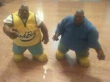 2 Mezco Notorious B.I.G. Biggie Smalls Doll Action Figure Lot Juicy NYCC + Blue