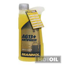 1 Liter Mannol Ag13 Kühlflüssigkeit Advanced Antifreeze -40°c