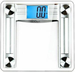 Digital Bathroom Scale 500 lb LCD Body Fat Caliper Tape Measure Fitness Health