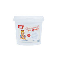 "Bicarbonate 2Kg - Alimentaire E500 ""Extra fin"" + mini guide OFFERT"