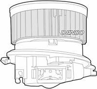 Denso Cabine Ventilateur / Moteur Pour Citroën Zx Break 1.9 66KW