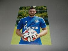 Marco Höger FC Schalke 04 FIRMATO SIGNED AUTOGRAPH AUTOGRAFO su foto 20x28