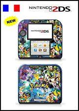 POKEMON - vinyl Skin Aufkleber für Nintendo 2DS - réf 150