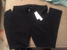 NWT Calvin Klein Black Stretch Straight Legging Pants  US10