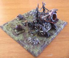 Citadel GW enano Hellcannon & Crew de metal en Miniatura Pro Pintura diarama fuera DE IMPRENTA RAROS
