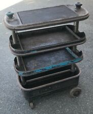 Vintage Hazet Assistant Portable Toolbox Trolley Workbench