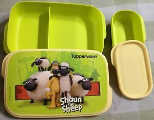 Tupperware My Lunch Shaun The Sheep Printed lunch box with Container kids Adults