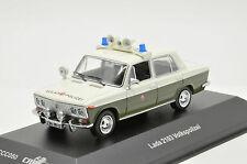 Rare !! Lada Vaz 2103 Volkspolizei Police CCC050 1/43 ixo ist