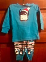 Gymboree Infant Boys Penguin Jammies - size 12-18 months