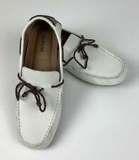 ALFANI Men's Tanner Loafer Driver Shoes White Size 9 M