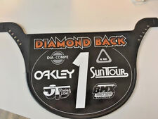 Old School Proto Plate BMX Number plate by NEAL Enterprises - DIAMONDBACK BMX