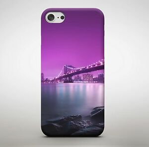 Beautiful Bridge Art Painting Drawing Colourful Pink Shade Phone Case Cover
