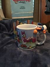 Rare Donald And Daisy And Friends Muggamals Walt Disney Mugs By Applause