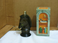 Vintage Avon Pony Decanter with Wild Country After Shave