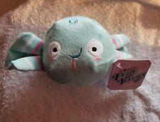 Bark Barkbox Mr Puggle's Fuzzy Yummies Dog Chew Ball Sque Plush Crinkle Toy Nwt
