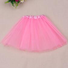 Girls Ballet Tutu Princess Dress Up Dance Wear Costume Party Toddler Kids Skirt