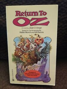 Return To Oz~ Del Ray~ 1985~ First Edition Book Walt Disney
