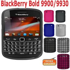 AMZER TPU Gel Skin Snap on Case Screen Protector For BlackBerry Bold 9930 9900