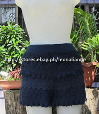 50% OFF! AUTH FOREVER 21 SOFT LACE NAVY SHORTS MEDIUM BNEW SRP US$ 15.90+