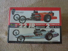 Vintage Revell Tony Nancy 22 JR Dragster & Roadster 1:25 Model kit #H1224-Sealed