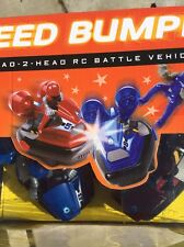 Speed Bumpers Head-2-Head RC Battle Vehicles 2-Player Action (Dented Box)