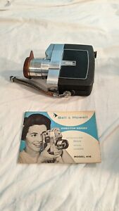 Vintage Bell & Howell Zoomatic Electric Director Series 8mm Movie Camera