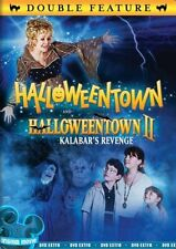 HALLOWEENTOWN I + II KALABAR'S REVENGE DVD Set 2 Movies Disney Magic Kids Film 1