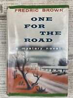 Fredric Brown / One For The Road First Edition 1958 Scarce Copy